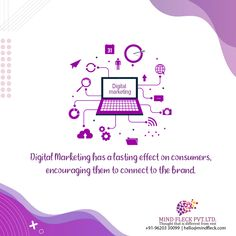 Digital Marketing allows a company to monitor and optimize their campaigns based on consumer needs. Phone: +91- 9620330099 DM: hello@mindfleck.com For More Details: www.mindfleck.com. #digitalmarketing #digitalmarketingagency #BestContentMarketingcompanies #BestContentMarketingCompaniesinBangalore #BestcontentMarketingservices #digitalmarketingindia #Bangalore #DigitalMarketingAgencyBangalore #Digitalmarketingcompany #Mindfleckpvtltd #Mindfleck Best Digital Marketing Company, Digital Marketing Strategy, Digital Marketing Services, Content Marketing, Event Management Company, Brand Management, Advertising Firms, Corporate Strategy, Ad Company