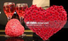 Комплект романтични свещи за влюбени