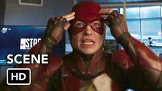 Barry Allen meets Barry Allen in the DCTV Crisis on Infinite Earths Crossover. Ezra Miller, The Flash in DCEU meets Grant Gustin, The Flash in DCTV. Ezra Miller, Grant Gustin, Jurassic World, Best Crossover, Supergirl 2015, Gal Gadot Wonder Woman, Infinite Earths, Game, Pranks