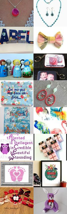 A bit of colour on a Saturday evening by Katie kitty kat on Etsy--Pinned+with+TreasuryPin.com