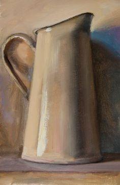 julian merrow smith | Still Life with Cream Jug a daily painting by Julian Merrow-Smith