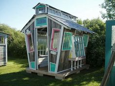 Cool greenhouse idea!!