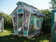 Cool greenhouse idea!!