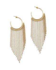 jewelmint golden fringe earrings :: $29.99 @jewelmint