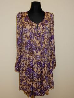 NEW! DRESS DDP WOMEN'S VISCOSE SZ.M, XL FRANCE #DDP #Tunic #Casual