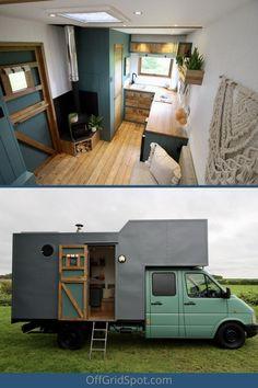 Enclosed Trailer Camper Conversion, Small Camper Trailers, Diy Camper Trailer, Build A Camper Van, Tiny Camper, Truck Camper, Cheap Tiny House, Tiny House Cabin, Horse Box Conversion