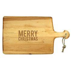"""""""Merry Christmas"""" Artisan Paddle"""