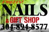 Come pamper yourself and look over our small gift shop for that gift you want to give for that special person. Gift certificates are also available. We do acrylic, solar gel, pink & white, glitter tips and seashell nails. Come to us for your deluxe pedicure or manicure, as well as color gel (shellac) and hand and airbrush designs. Your satisfaction is our goal.  [Businesses - Beauty Salons/Barbers > Manicure/Pedicure > Nails] [Tourism - > Gift Shop]