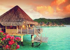 Bora Bora #Beautiful #Places #Photography