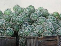 Glass Fishing Floats | Recycling the Past - Architectural Salvage