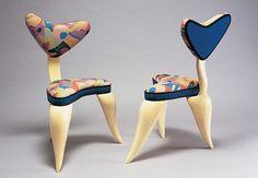 Webop-a- Bebop chairs by Cindy Vargas