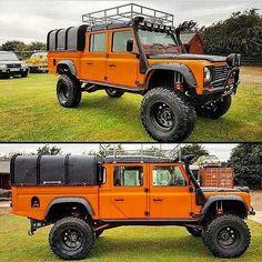 Not a Jeep but still cool. Cj Jeep, Jeep Truck, 4x4 Trucks, Cool Trucks, Jeep Carros, Carros Toyota, Land Rover Defender 130, Land Rover 130, Landrover Defender