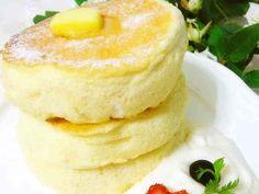 ふわしゅわ憧れパンケーキ♪の画像