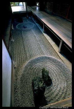 Rock garden of Ryogen-in, allegedly the smallest one in Japan, Kyoto