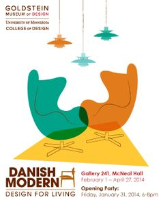 """Danish Modern: Design for Living"" #minneapolis #moderndesign #danishdesign #danishfurniture #scandinaviandesign"