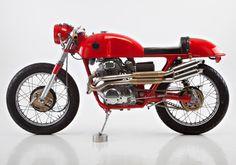 JAN SALLINGS' HONDA 350 (via Bike Exif)