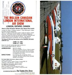 1990 Molson Canadian London International Air Show
