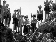 #43: Lord of the Flies  Lord of the Flies, 1963, directed by Peter Brook, from the novel by William Golding.