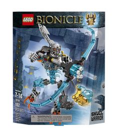 Amazon.com: LEGO Bionicle 70791 Skull Warrior Building Kit: Toys & Games