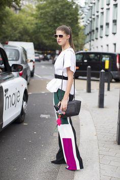 panel pants / LFW #streestyle / #MIZUstyle