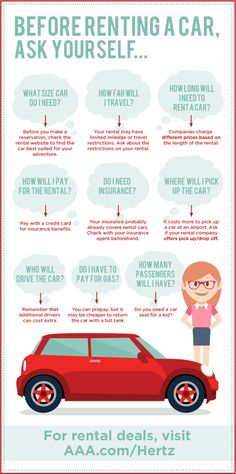 Use these car rental tips to prepare for you next trip.