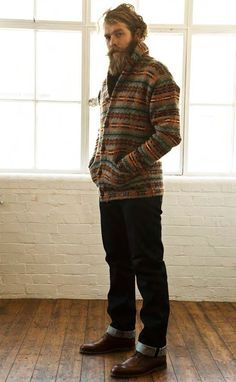 men's style and fashion boots and sweaters beards - Google-haku