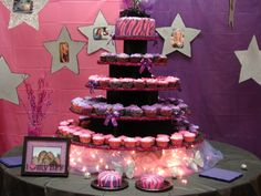 Sweet Sixteen Birthday Cake by Larimar Affairs!