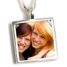 Best Friends Custom Photo Necklace