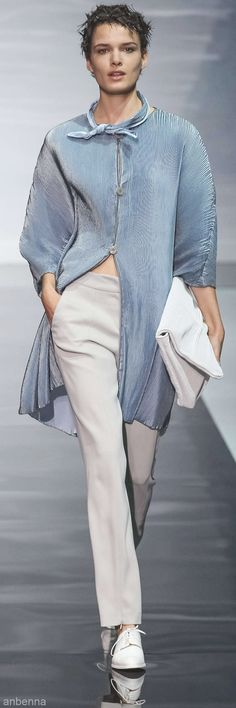 Emporio Armani ss 2014 comfort and style come together at Armani... I'll take inspiration from that! Beautifuls.com Members VIP Fashion Club 40-80% Off Luxury Fashion Brands