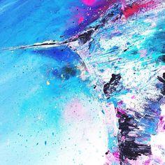 New week new layer🎨⠀ Modern Art, Contemporary Art, New Week, Mixed Media Art, Pop Art, Abstract Art, My Arts, Waves, Wall Art