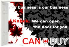 If you want to do big deal in Canada!! start blogging & comment on  http://canbuy.wordpress.com/ blog