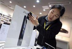 L'iPhone 5 dmarre doucement en Chine, Apple a recul en Bourse - http://www.andlil.com/liphone-5-dmarre-doucement-en-chine-apple-a-recul-en-bourse-3-44989.html