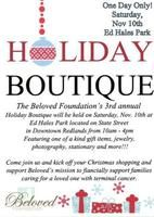Beloved Foundation Holiday Craft Boutique - Activities and Events in Redlands CA