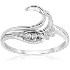 Wrap Wedding Band, Enhancer Wedding Band, Womens Wedding Bands, Wedding Ring Enhancers, Star Wedding, Gold Wedding, Wedding Jewelry, Simulated Diamond Rings, Round Diamond Ring