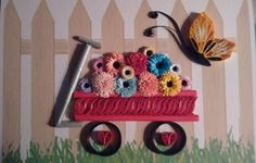 Little Red Wagon - Tranquillity Quilling Designs by Djay Little Red Wagon, Quilling Cards, Quilling Designs, Pattern, Home Decor, Decoration Home, Room Decor, Patterns, Model