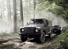 Land Rover Defender Page - Foto-gallerie