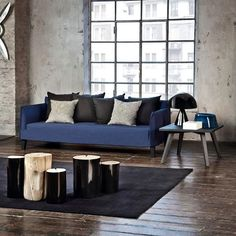 GERVASONI: Black & Blue, perfect mix! Ghost sofa & Log S M L Design Paola Navone https://www.davincilifestyle.com/gervasoni-black-blue-perfect-mixghost-sofa-log-s-m-ldesign-paola-navone/   Black & Blue, perfect mix! Ghost sofa & Log S M L Design by Paola Navone    [ACCESS GERVASONI BRAND INFORMATION AND CATALOGUES]   #GERVASONI GERVASONI Da Vinci Lifestyle