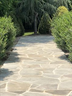 Restoring a walkway by reusing flagstone pavers