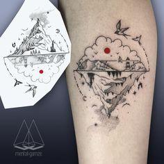 the red dot les tatouages avec un point rouge de Mentat Gamze 2Tout2Rien