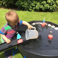 Over 70 ideas for using your Active World Tuff Spot Tray - TTS Inspiration Pirate Activities, Eyfs Activities, Nursery Activities, Infant Activities, Summer Activities, Outdoor Activities, Tuff Spot, Tuff Tray Ideas Toddlers, Garden Ideas For Toddlers