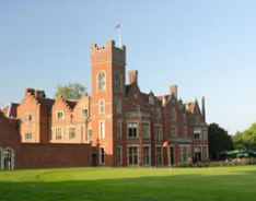 The Hertfordshire Golf club.  Don't imagine I'll be playing here!