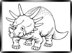 Printable Dinosaur Coloring Pages With Names  Dinosaur Party
