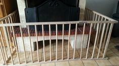 Protection pour la cheminée quand on a des enfants en bas âge.