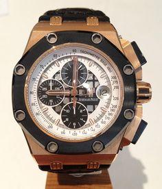Audemars Piguet Royal Oak Offshore Barrichello II - Rose Gold $66,318