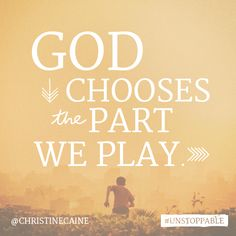 Be Unstoppable for Jesus!  Jesus's tells us to GO! Into all the world and make disciples!