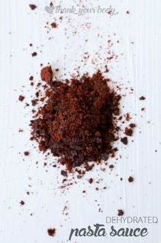 Easy Homemade Dehydrated Pasta Sauce - Food Storage Pantry -  Homesteading  - The Homestead Survival .Com