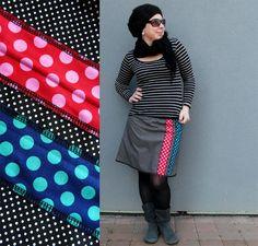 16d8e78e2f0 Sukně - A - Dots - Multi Dotty   Zboží prodejce Funny Town Factory