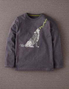 I've spotted this @BodenClothing Scribble Print T-shirt Steel/Wolf