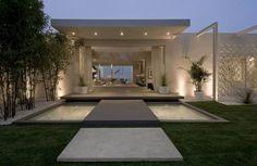 beautiful modern landscaping