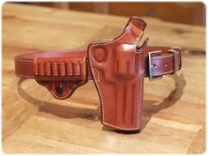 Smith & Wesson 7 bullet leather holster   Flickr - Photo Sharing!